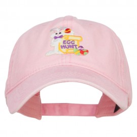 Easter Bunny Egg Patched Washed Cap