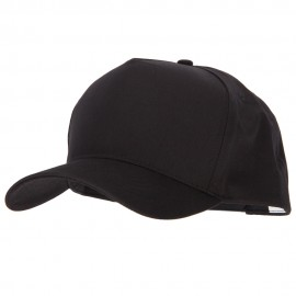 Big Size Solid Cotton Twill 5 Panel High Profile Pro Style Snap Cap
