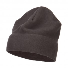 Big Size Fleece Beanie - Heather