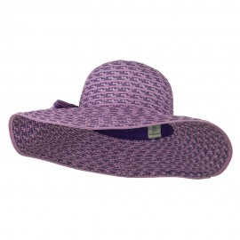 Big Bow Floppy Wide Brim Hat