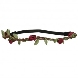 Rose Flower Hippie Headband
