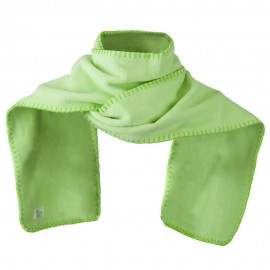 Unisex Blanket Stitch Fleece Scarf - Mint