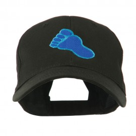 Bigfoot Track Mascot Embroidery Cap