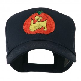 Funny Big Jack O Lantern Embroidered Cap