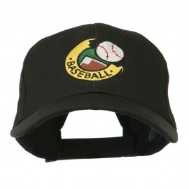 Baseball Logo Embroidery Cap