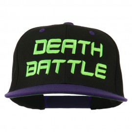 Halloween Death Battle Embroidered Snapback Cap