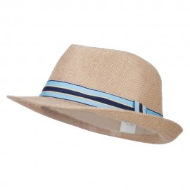 Boy's Band Jute Fedora