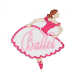 Ballet Embroidered Patches