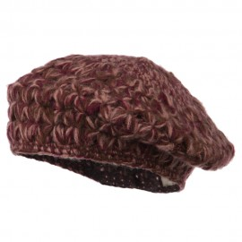 Wool Blend Ladies Beret