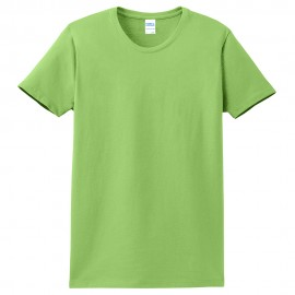 Ladies Big Size Port & Company Soft Spun Cotton Essential T-Shirt