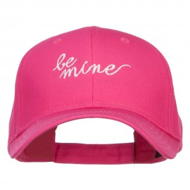 Be Mine Embroidered Cotton Cap