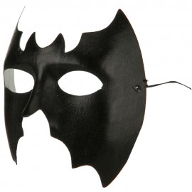 Bat Mask - Black