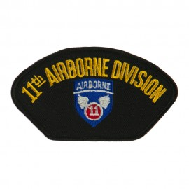 Air Bourne Military Large Patch - 11th Air