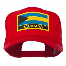 Bahamas Flag Patched High Profile Cap