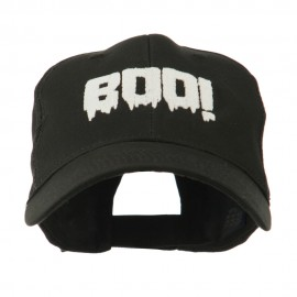 Halloween Boo Sign Embroidered Cap