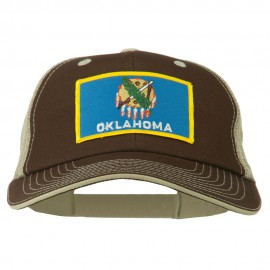 Big Mesh State Oklahoma Patch Cap