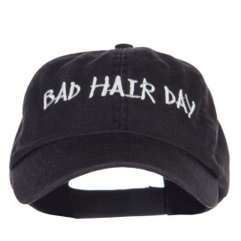 Bad Hair Day Embroidered Low Profile Cap