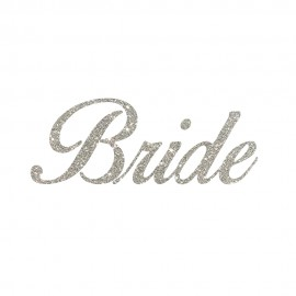 Bride Letter Design Heat Transfers Sticker