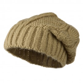 Big Skullie Cable Beanie