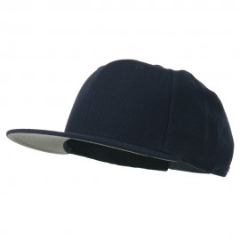 Boy's Solid Wool Blend Snapback Cap