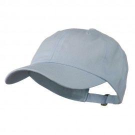 Essential Brushed Twill Cap - Baby Blue