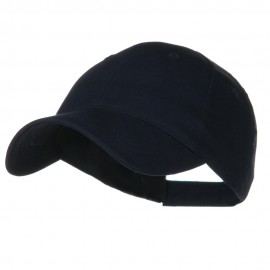 Youth Brushed Cotton Twill Low Profile Cap - Navy