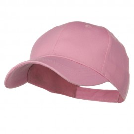 Youth Brushed Cotton Twill Low Profile Cap - Pink