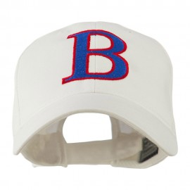 Greek Alphabet Beta Embroidered Cap