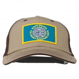 Big Mesh State South Dakota Patch Cap