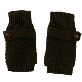 7 Inches Thumb Basket Weave Arm Warmer