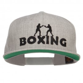 Boxing Embroidered Snapback Cap