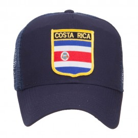 Costa Rica Flag Patched Mesh Cap