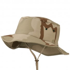 Camouflage Ripstop Bucket Hat