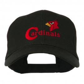 Cardinals with Bird Head Embroidered Cap