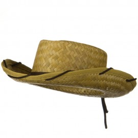 Stitched Child Cocoa Cowboy Hat - Natural