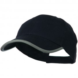 Reflective Plain Constructed Cap