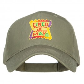 Cinco De Mayo Patched Embroidered Cap