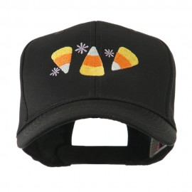 Halloween Candies Embroidered Cap