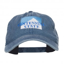 Colorado Centennial State Embroidered Cap