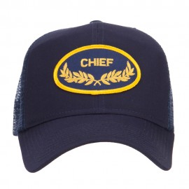 Chief Oak Leaf Patched Mesh Cap
