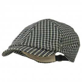 Checker 8 Quarter Ivy Cap