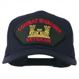 Combat Engineer Veteran Military Patch Cap
