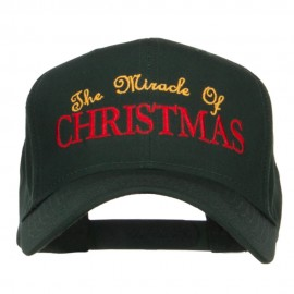 Miracle of Christmas Embroidered Cap