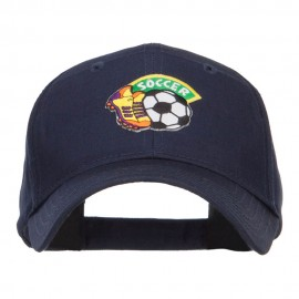 Soccer Fun Patched Cotton Cap