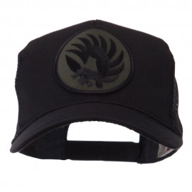 Combined Forces Military Patched Mesh Cap