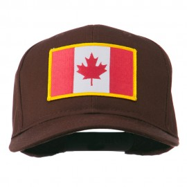 Canada Flag Embroidered Patch Cap