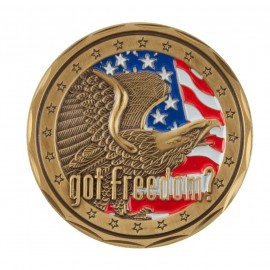 U.S. Army Saying Coin (2) - Black Got Freedom