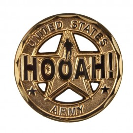 U.S. Army Saying Coin (2) - Bronze Hooah!