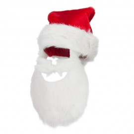 Plush Santa Hat - Beard