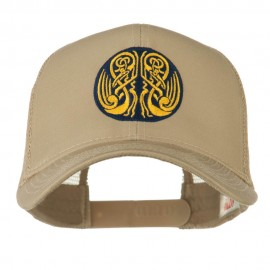 Celtic Image in Circle Embroidered Cap